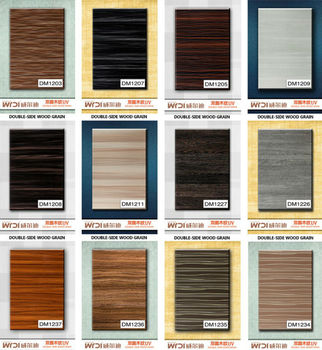 MDF coated pvc cabinet door