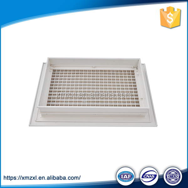 Air Outlet Diffuser Floor Vent Cover Double Deflection Diffuser
