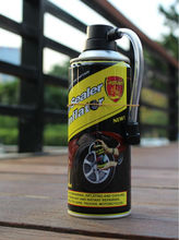 min size 125ml for mbt tyre repair anti-puncture with tire sealant inflator