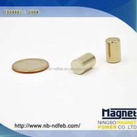 Super Strong Cylinder Neodymium Magnet/Aimants Cylindrical