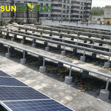 SunRack Solar Panels on Ground Cost for Solar Mounting System