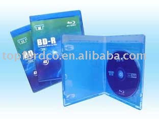 25GB blu ray cd/dvd with blu ray case