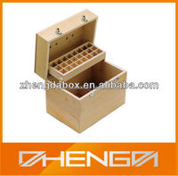 Hot!!! Customized Made-in-China Decorative Layers Essential Oil Wood Box(ZDW13-E006)