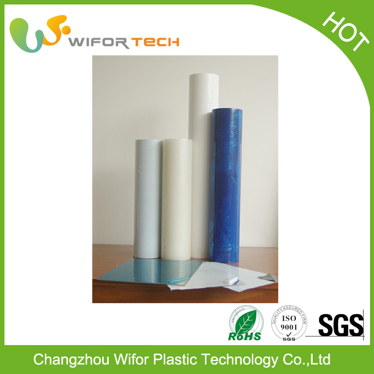 Metal Surface Self-Adhesive PE Protective/Protection/Protector Films/Foils/Tapes Rolls