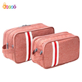 Encai Hand Multi-layer Cosmetic Bag Korean Multi-functional Travel Toiletry Organizer Bag