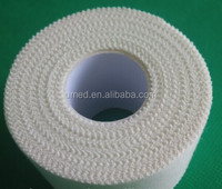 Medical Zinc Oxide Adhesive Tape Plaster CE FDA Certificated Manufacturer/Zinc Oxide Colours Breathable Climbing Tape