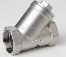 High quality cast iron Y strainer api 6d