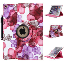 FLOWER PU LEATHER Case Cover For ipad4/5/6/mini