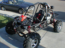 Quad Bike ATV frame 150cc