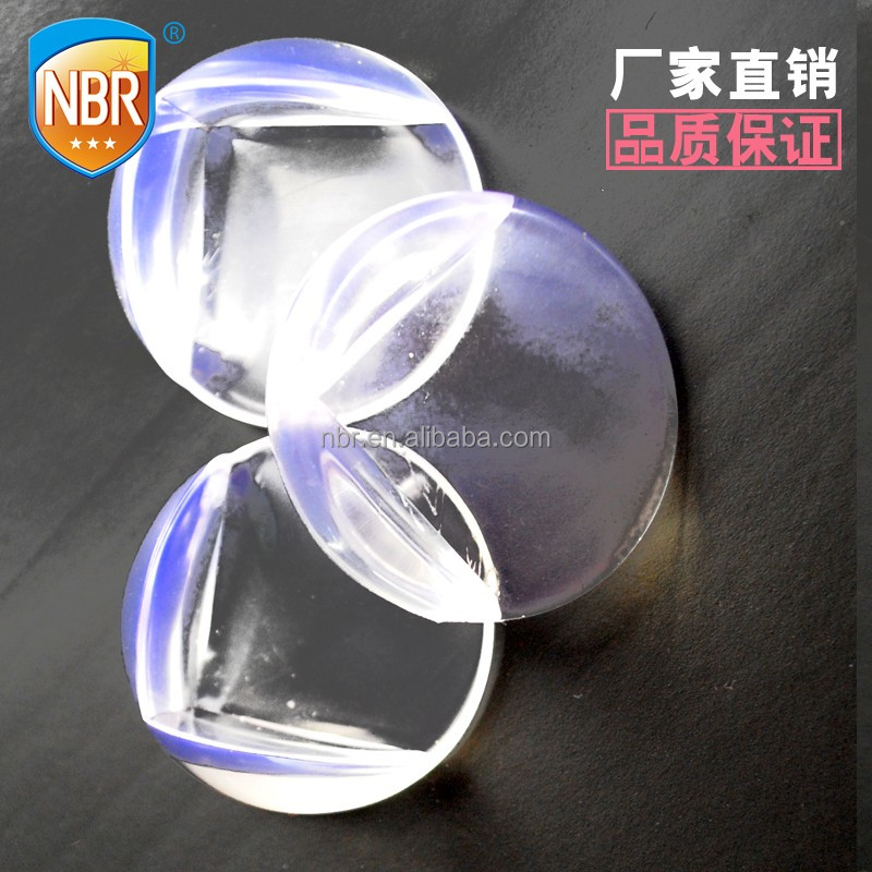 good selling Baby safety clear plastic foam round table corner guard