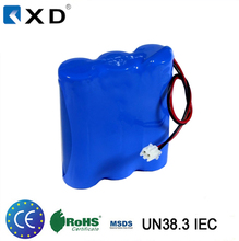 18650R 6600mAh 3.7v rechargeable lithium ion battery pack