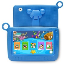 7'' A33 Colorful OEM custom logo Android 5.1 learning education tablets pc for kids baby