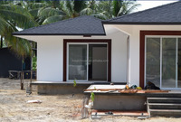 Luxury villa house designs house plans philippines concrete prefabricated house fully furnitured