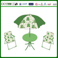 kids new design folding table and chair set with umbrella