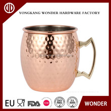 450ml stainless steel copper moscow mug for cocktails