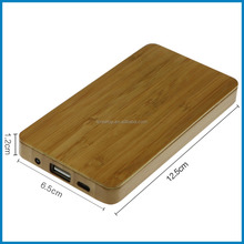 New products wood power bank portable mobile phone power bank battery charger for all smart phone 4000mAh,MOPO CUBE