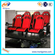 6 chair platform 5d cinema electric system 3d glasses screen home theater for sale