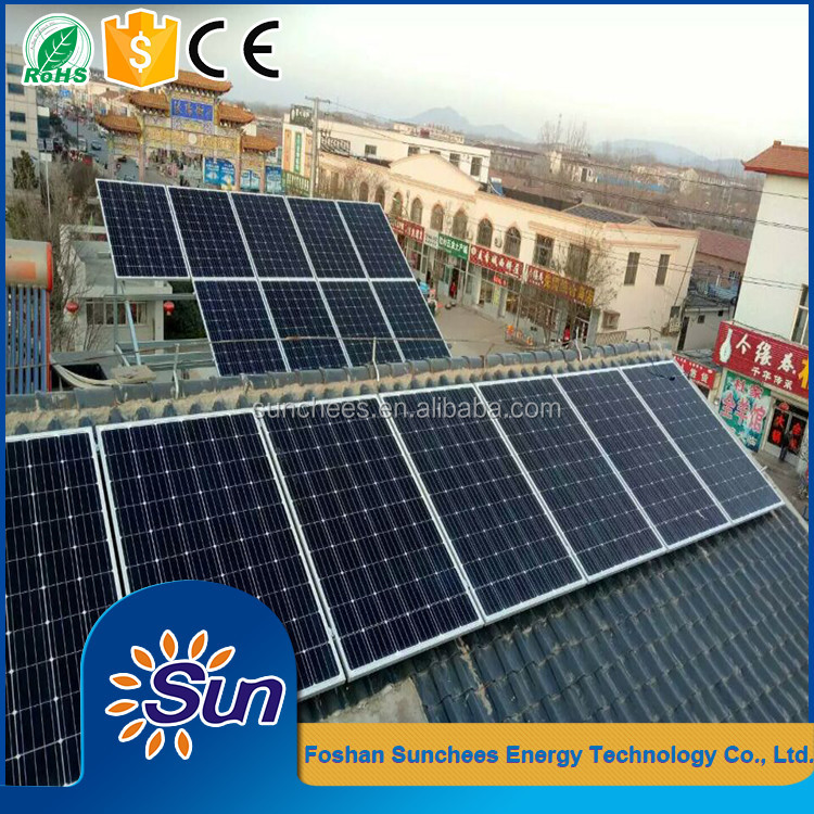 Indonesia market easy installation system 5kw solar generator electrical power