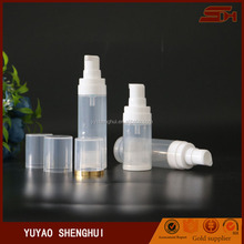 new product 10ml plastic small perfume bottle sprayer pump