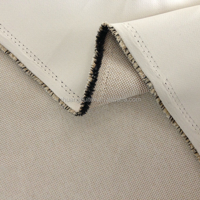 New Arrival 100% polyester imitation linen blackout curtain fabric for hotel curtain