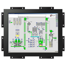 Resistive touch 15 inch 4:3 open frame lcd monitor