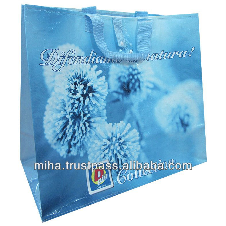 ENVI REUSABLE BAGS PP Woven Shopping Bag