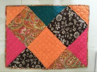 100% COTTON HANDMADE PATCHWORK QUILT