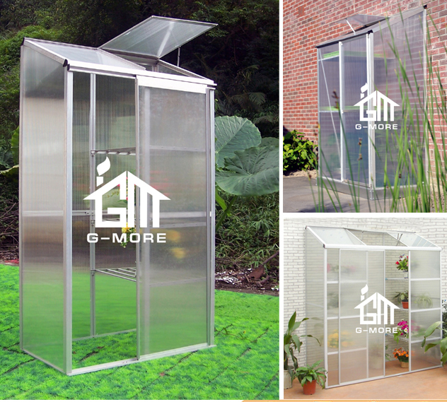 G More Outdoor Small Fast Assembly Patio Greenhouse / Toolhouse Serre De  Jardin For Family Use   Buy Patio Greenhouse,Toolhouse Tool House,Small ...