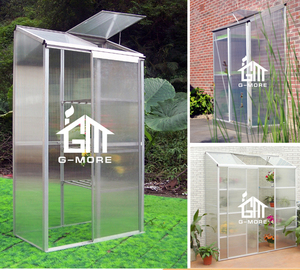 G-MORE Outdoor Small Fast Assembly Patio Greenhouse / Toolhouse Serre De Jardin For Family Use