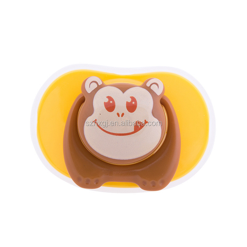 2017 hot sale New design Silicone Funny animal Baby Pacifier