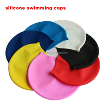 Custom Logo Printed silicone swimming cap custom print watersport hat and cap waterproof swim cap
