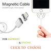 2016 Magnetic Micro Usb Cable For Samsung Huawei Android Smartphone,Magnetic Charging Cable For Iphone Magnetic USB Cable