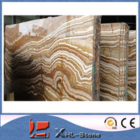 Tiger onyx yellow onyx marble tiles