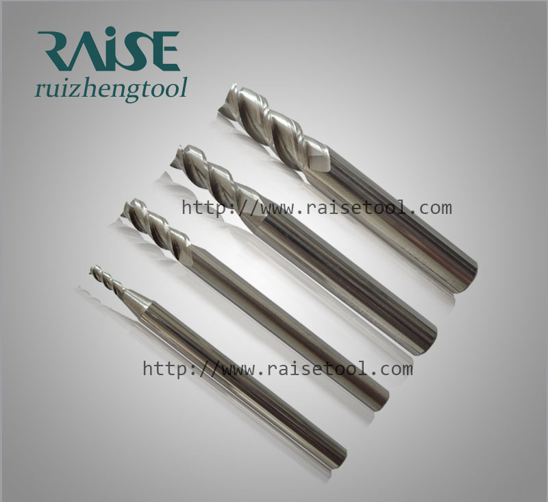 Carbide Square End Mills For Aluminum