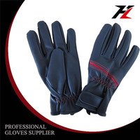 High quality long serve life mechanic deerskin gloves