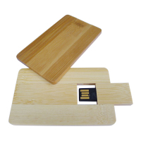 Engraving Logo Custom Shaped Wood Flat USB Stick Bulk Wood USB Flash Drive
