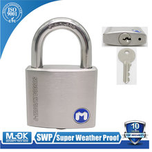 "W207P hardened steel shackle case/lock body width 13/16"" ,11/12"" ,2"",23/8"",23/4"" inch key and pad lock branked"