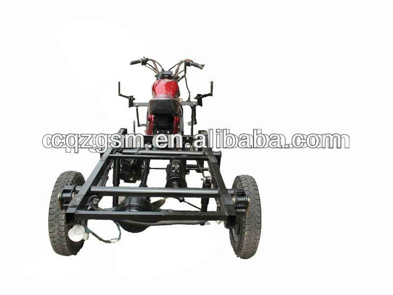 110cc motocicletas de tres ruedas de carga