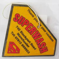 Custom Strong Perfume Absorbent Paper Car Air Freshener