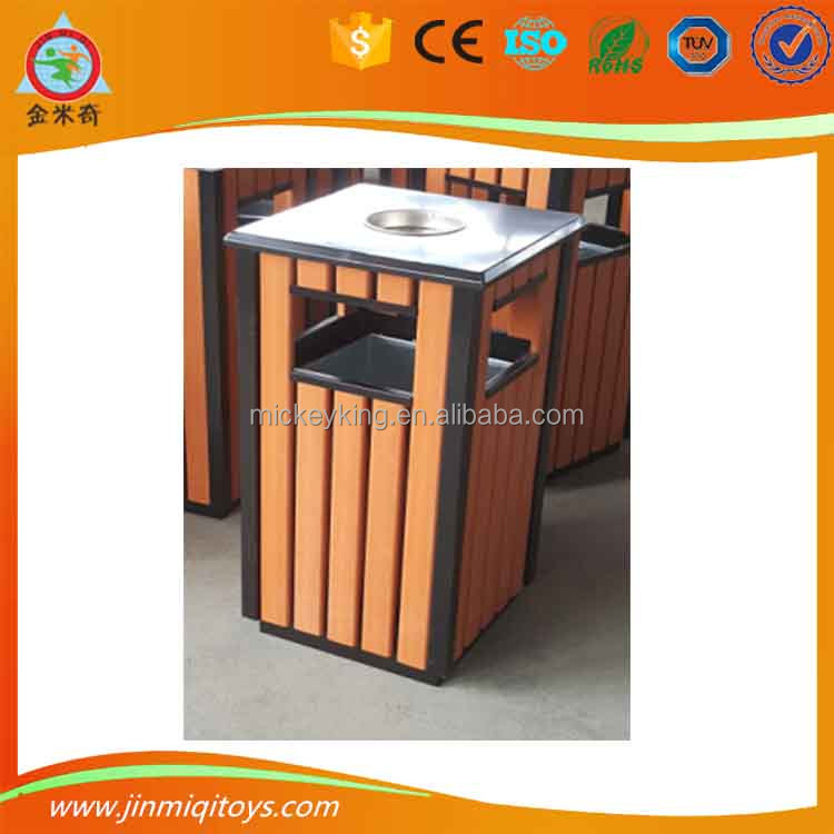 Profitable JMQ-G248M commercial WPC material <strong>waste</strong> bins dustbin