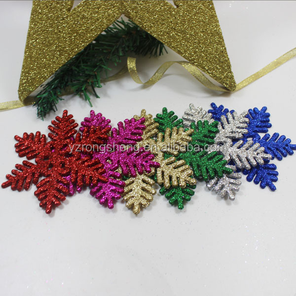 christmas tree metal snowflake ornament