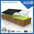 Ground Solar Photovoltaic Plant with Pile