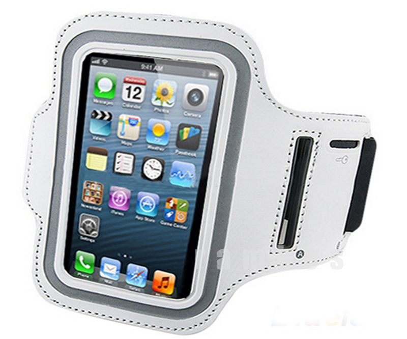 Neoprene Sports Gym Cycling Jogging Armband Case Cover Pouch for Iphone 4 4s
