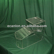 Clear acrylic bulk food bin wholesale