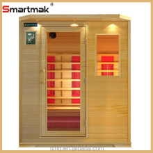smartmak 3 People New house design prefabricated wood homes Far Infrared Sauna Room luxury home slim Far Infrared Sauna Room