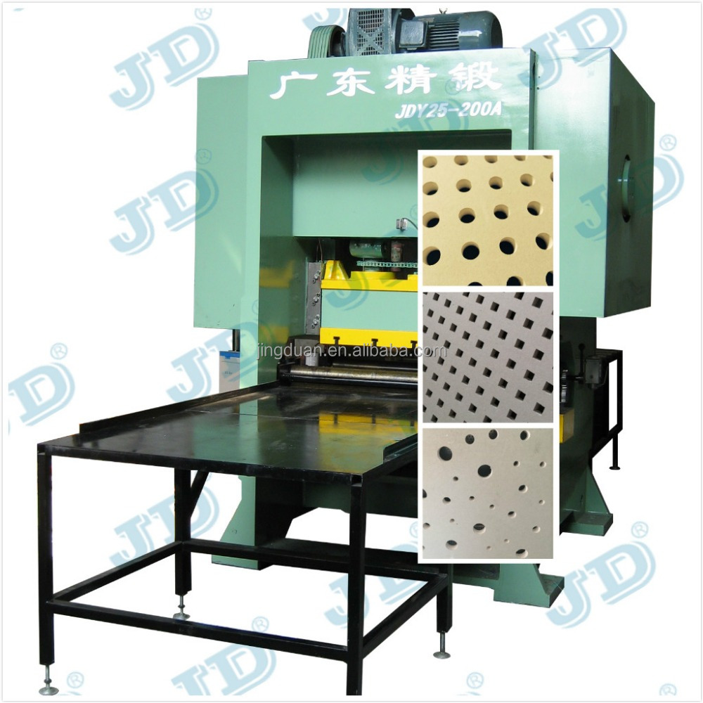 JDY25-100 Gypsum Board Perforation Machine,Gypsum board punching machine,Perforated gypsum board making machine
