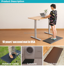 office or home use anti fatigue standing mat for height adjustable computer desk