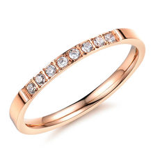 High quality Mirco CZ stone rings for women fashion women ring gj412