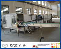 continuously spraying type pasteurization and cooling tunnel