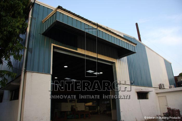 Metal Roof and Wall Systems, PEB Manufacturing Facility India
